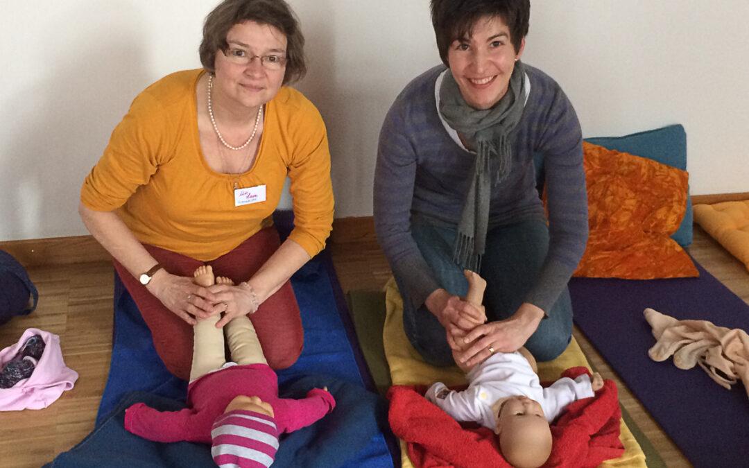 Ausbildung zur Babymassage-Kursleiterin bei Ute Laves